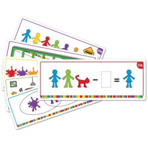 All About Me Family Counter™ Activiteitenkaarten  - 075 -