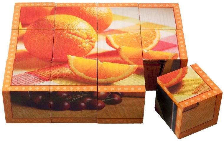 Blokkenpuzzel: Fruit