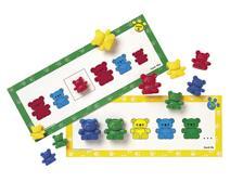De drie berenfamilie patroonkaarten  - 062 -