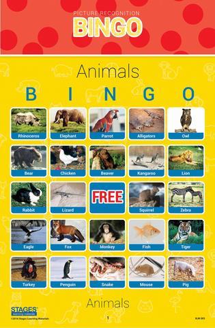 Dieren Bingo