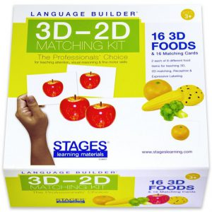 Language Builder: 3D-2D matchen voedsel  - 109 -