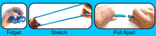 Twiddle Toys Blauw  - 085 -