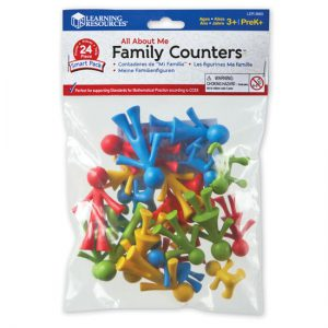 All About Me Family Counters™ (set van 24)  - 069 -