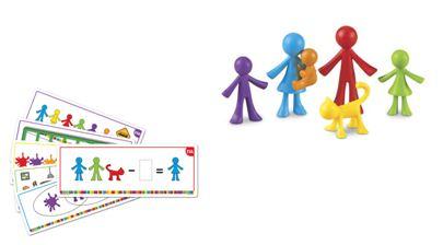 All About Me Family Counters™ (set van 72) en Activiteitenkaarten (Combi-set voordeel)