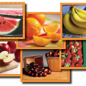 Blokkenpuzzel: Fruit  - 099 -