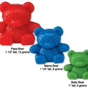 De drie beren familie (set van 96)!! Learning Resources - 057 -