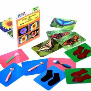 Flashkaarten Matchen identieke en niet-identieke voorwerpen natural learning concepts - 029 -