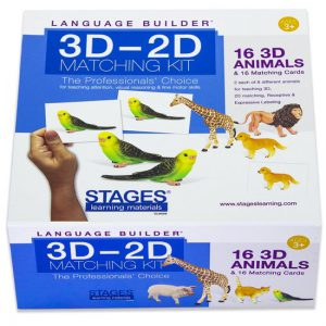 Language Builder: 3D-2D matchen dieren  - 108 -