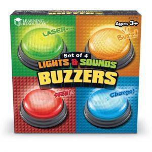 Licht en geluid Antwoord Buzzers  - 060 -