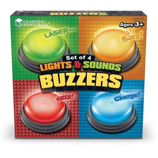 Licht en geluid Antwoord Buzzers