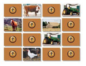 Memory: Op de boerderij  - 104 -