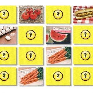 Memory: Voedsel  - 102 -