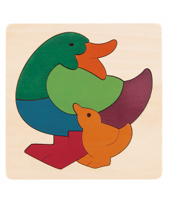 Rainbow Duck Puzzel
