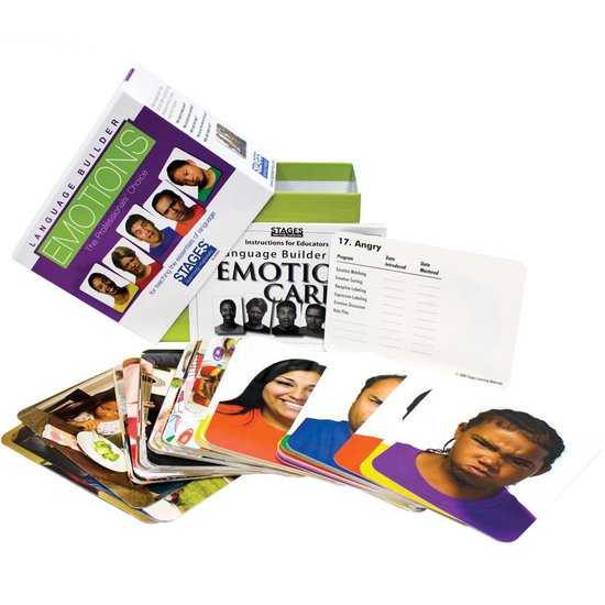 Taalpakket Foto Emotiekaarten (professional) stages learning materials - 032 -