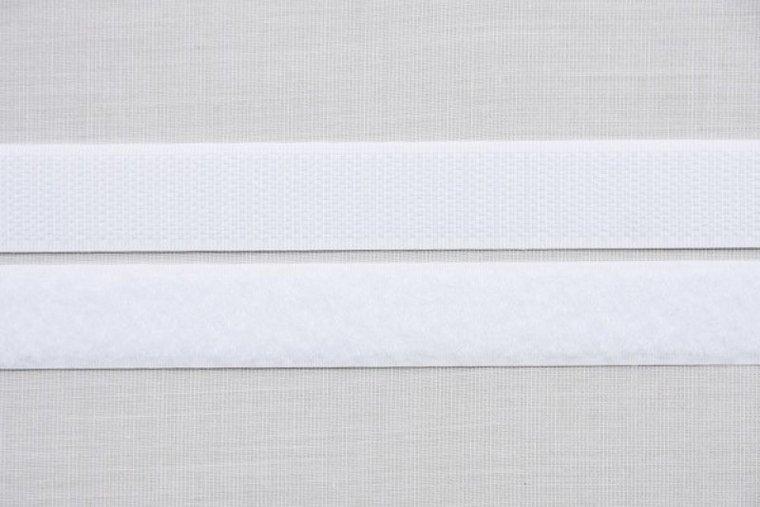 Velcro klittenband, 1 meter zelfklevend (haak en lus)