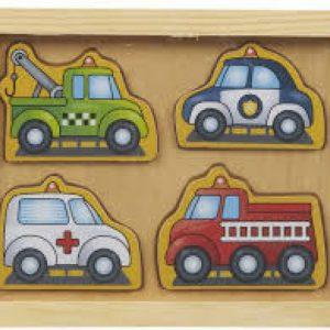 Voertuigen kleine puzzel pakket Melissa and Doug - 014 -