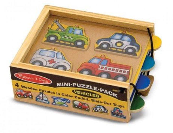 Voertuigen puzzel pakket