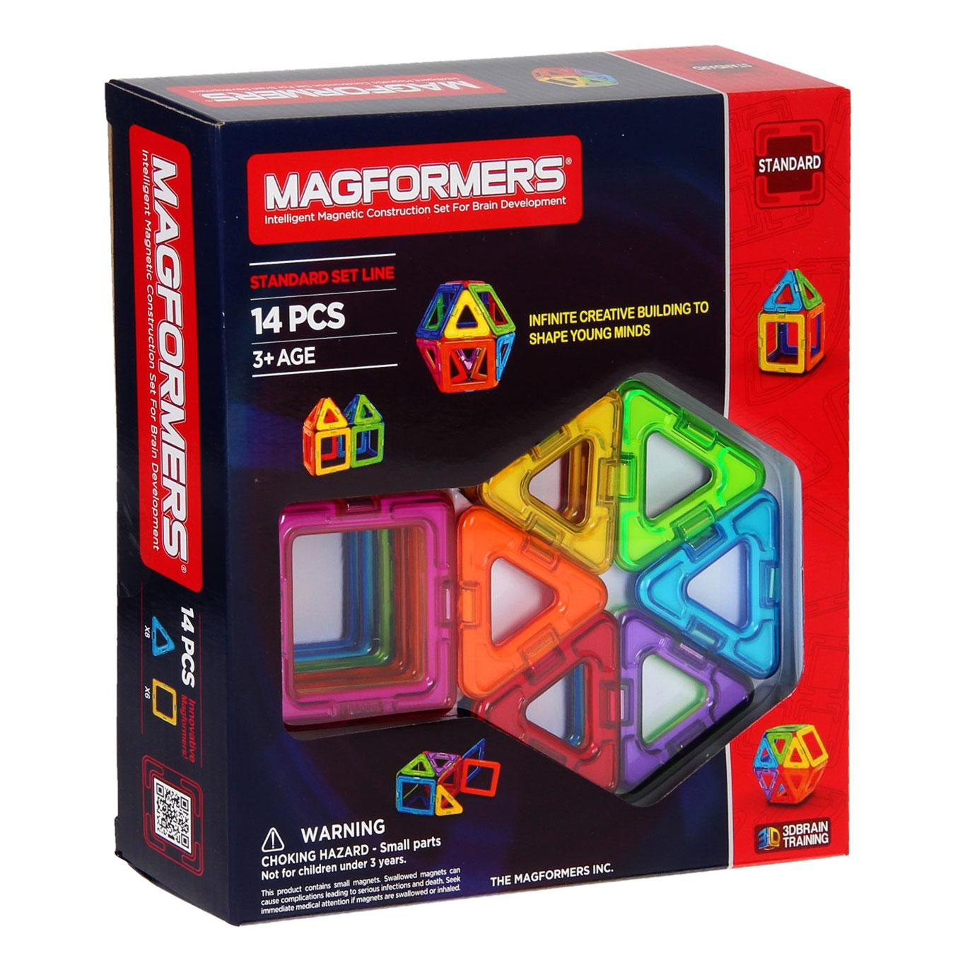 Magformers Set – 14 delig
