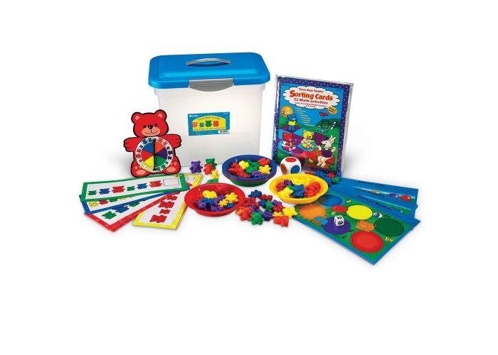 Drie beren familie: sorteren, rangschikken en speelset