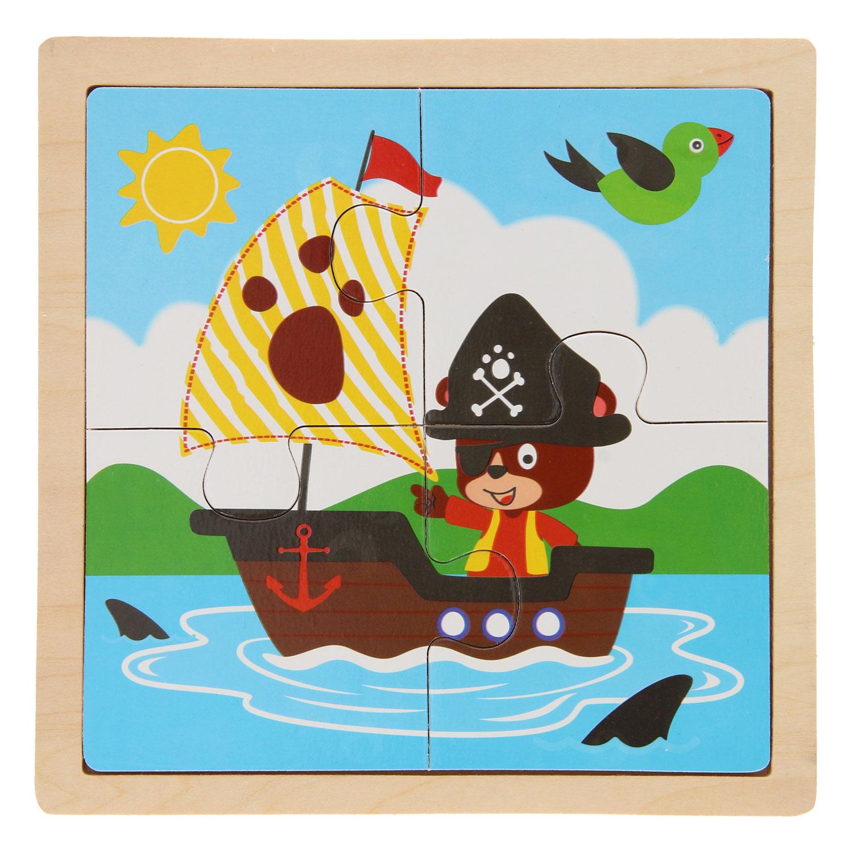 Legpuzzel Piratenbeer
