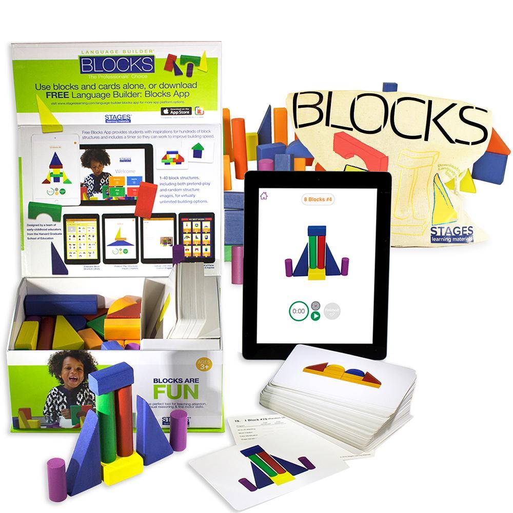 Language Builder Blokken inclusief extra blokkenset