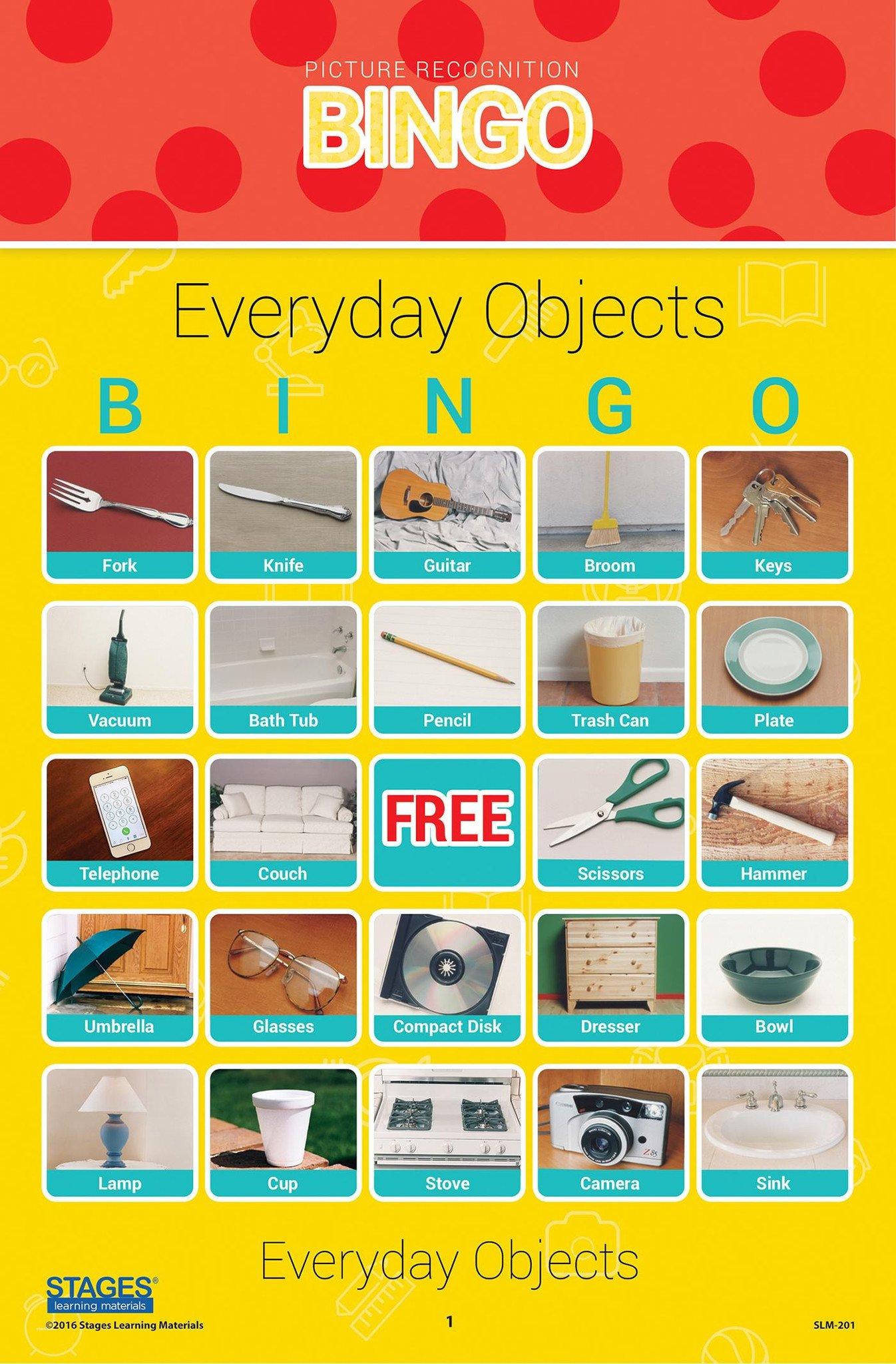 Voorwerpen Bingo