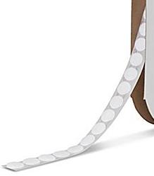 Velcro klittenbandnopjes (zacht), 1 meter zelfklevend