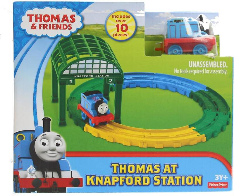Thomas de Trein op Knapford Station