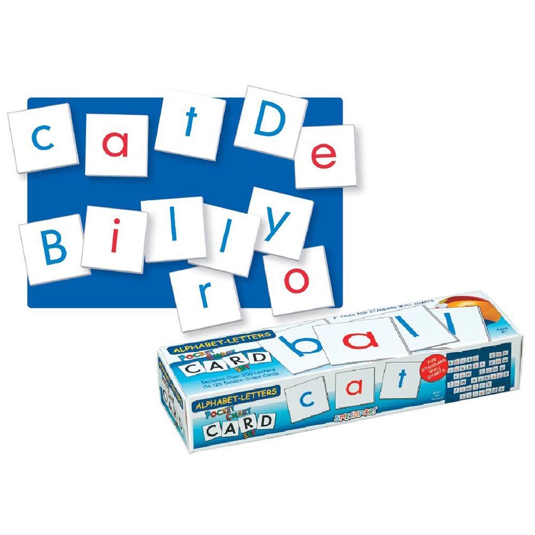 Alfabet Letters Kaartenset