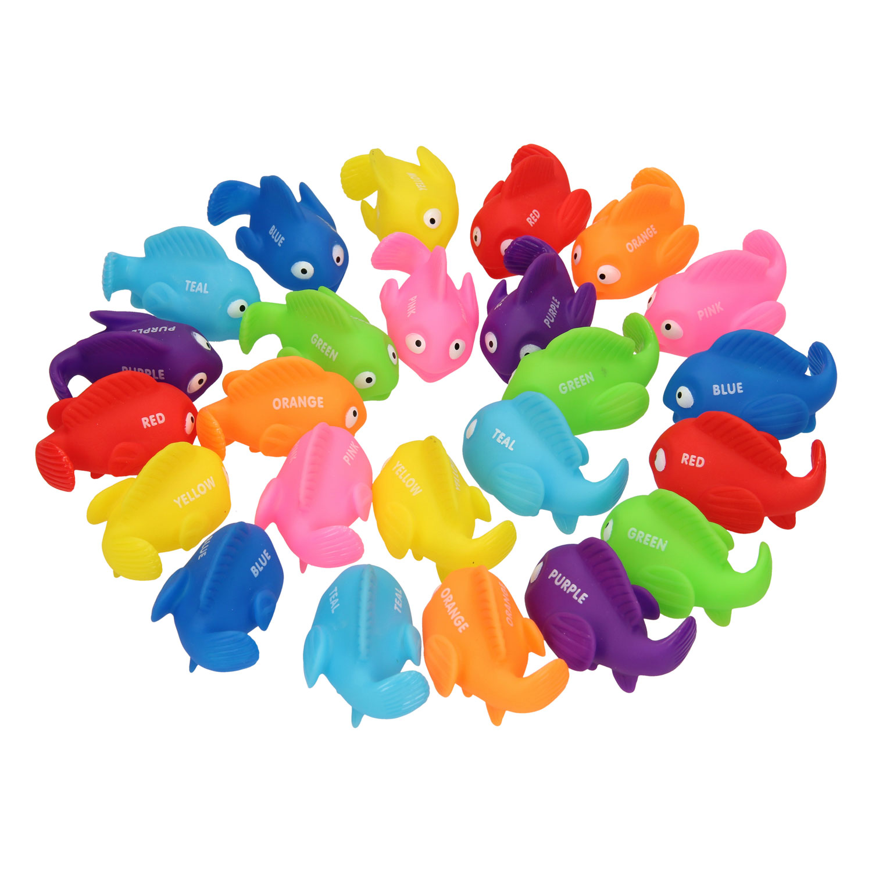 24 Gekleurde Vissen