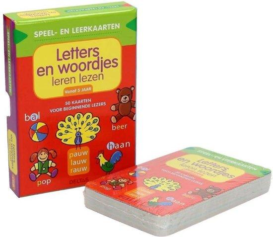 Speel en Leerkaarten: Letters en Woordjes Leren